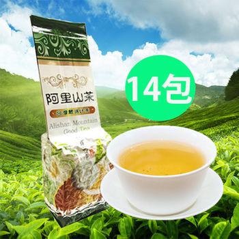 孫紅茶行 滿口香阿里山烏龍茶 14包150公克/包