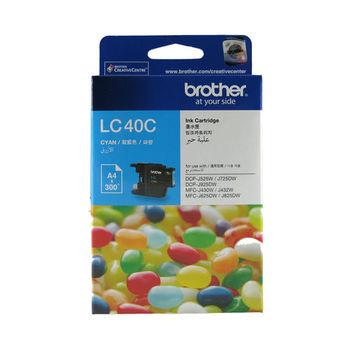 Brother LC40C 原廠藍色墨水匣