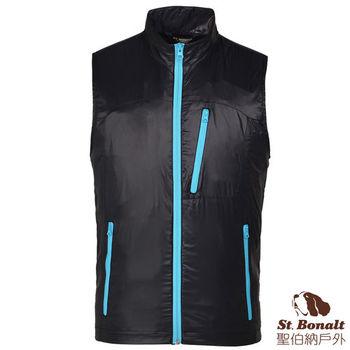 【聖伯納 St.Bonalt】男-iPad袋多功能智慧衣-黑色(4122)