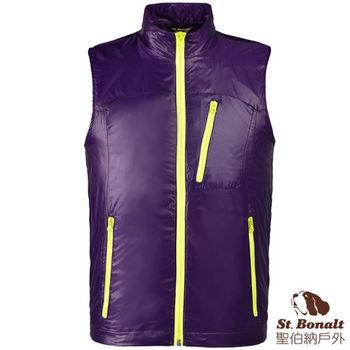 【聖伯納 St.Bonalt】男-iPad袋多功能智慧衣-紫色(4122)