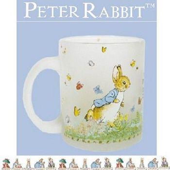 【Peter Rabbit】 比得兔兄妹 玻璃霧面馬克杯 350ML