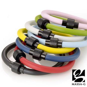 MASSA-G O2鍺鈦能量手環-6MM黑扣