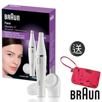 【德國百靈BRAUN】雙效淨膚儀(經典組)SE820