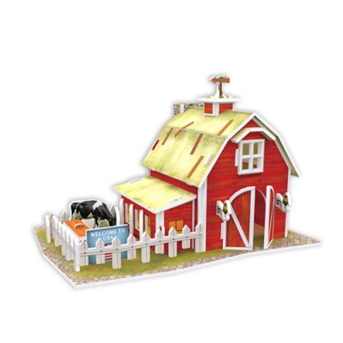 4D手作紙雕-美國-清境農場