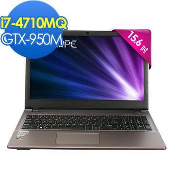 CJSCOPE WX-350 15.6吋FHD i7-4710MQ 獨顯GTX-950M 2G Win 7 效能典藏筆電 金