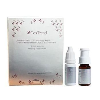 CosTrend極緻淡斑美白凍晶 (12ml精華液/凍晶1g, 兩瓶/1盒)《敏感肌膚適用》