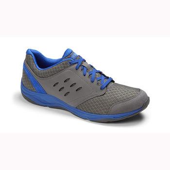 【美國VIONIC法歐尼】健康美體時尚運動鞋(男)(Contest-灰藍)