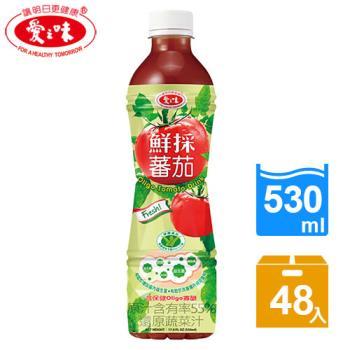 【愛之味】鮮採蕃茄汁Oligo腸道保健530ml(24入/箱)*2箱
