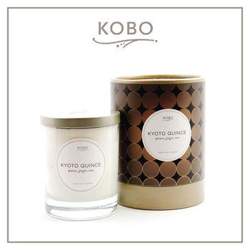 【KOBO】美國大豆精油蠟燭 - 京都薔薇(330g/可燃燒80hr)