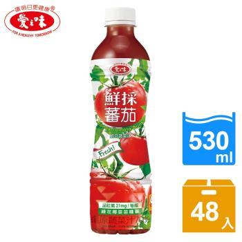 【愛之味】鮮採蕃茄汁SFN升級配方530ml(24入/箱)*2箱