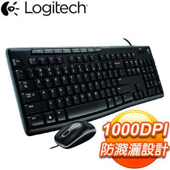 Logitech 羅技 MK200 USB鍵盤滑鼠組