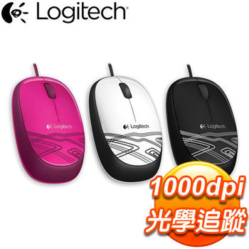 Logitech 羅技 M105 彩色酷炫光學滑鼠《三色任選》