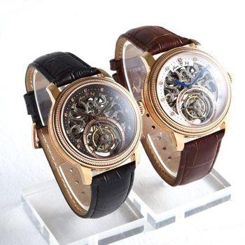 JL尊榮首選陀飛輪機械腕錶