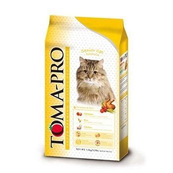 【TOMA-PRO】優格 高齡貓 高纖低脂配方 雞肉&米 1.5公斤 X 1包