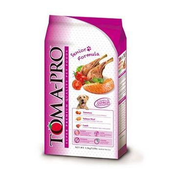 【TOMA-PRO】優格 高齡犬高纖低脂配方 羊肉&米 13.6公斤 X 1包