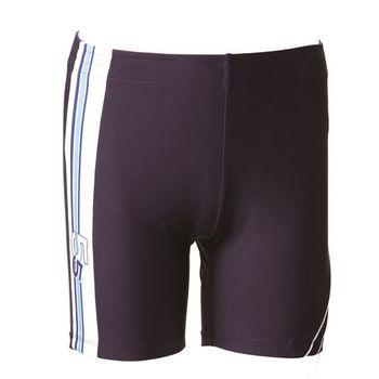 【SAIN SOU】大男彈性七分泳褲 (附泳帽) 加贈短襪x1雙 A53005