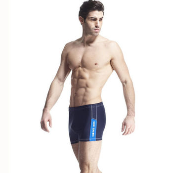 【SAIN SOU】大男彈性三分泳褲 (附泳帽) 加贈短襪x1雙 A52403-02