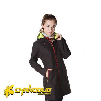 【CHANODUG】女款時尚長版防風保暖風衣