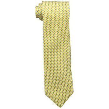 【Tommy Hilfiger】2015男時尚海龜紋黃色領帶【預購】