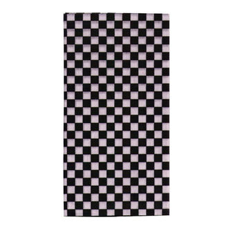 【A-Magic】台製頭巾-黑白方格(TC014)