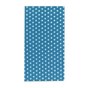 【A-Magic】台製頭巾-天空藍點(TC042)