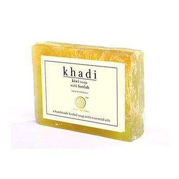 【印度Khadi】奇異果手工精油絲瓜皂去角質6入特惠組