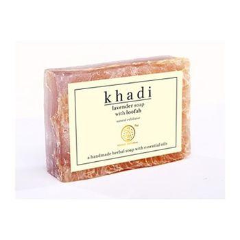 【印度Khadi】薰衣草手工精油絲瓜皂去角質6入特惠組