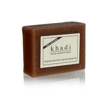 【印度Khadi】草本檀香蜂蜜手工精油香皂(6入特惠組)