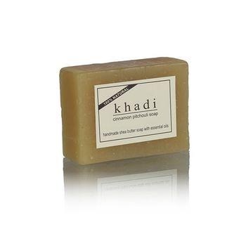 【印度Khadi】草本肉桂廣藿香手工精油香皂(6入特惠組)