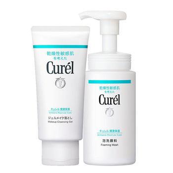 花王珂潤 Curel卸妝蜜/泡泡洗顏潔淨組
