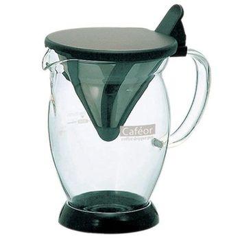 日本HARIO-V60免濾紙咖啡分享杯300ml(CFO-2B)