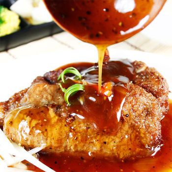 【快樂大廚】洋蔥豬排佐黑胡椒醬10入組