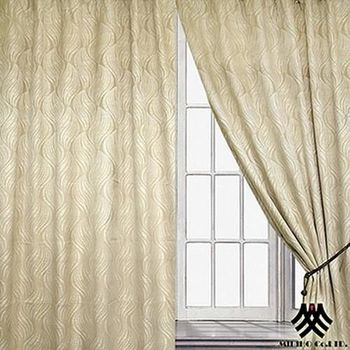 【M.B.H】金燦巴黎落地遮光穿掛窗簾(270*230cm)