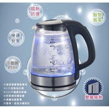 【勳風】安心型雙層防護/防燙手安全快煮壺(HF-3018)
