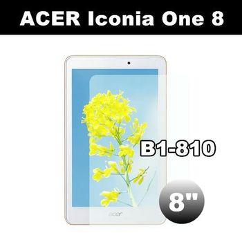 ACER Iconia One 8 B1-810 8吋 亮面保護貼 平板電腦保護貼