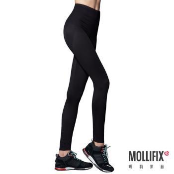 【Mollifix】MoveFree提臀動塑褲(黑)