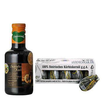 Kiendler健多樂-奧地利金牌純南瓜籽油1大1小