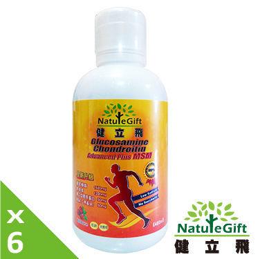 健立飛葡萄糖胺液6入(480ML)