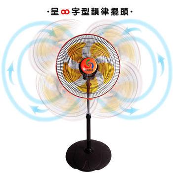 【金展輝】廣角對流360度循環涼風扇(14吋)