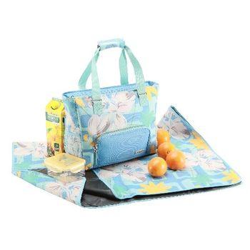 YoDo 野餐/海灘雙用媽媽包 (附野餐墊/保鮮盒)