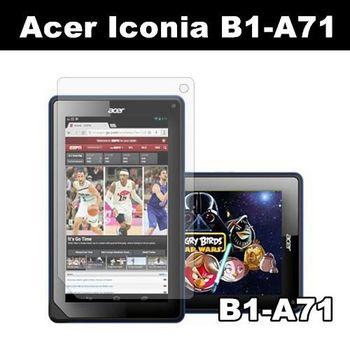 Acer Iconia B1-A71 亮面保護貼 平板電腦保護貼
