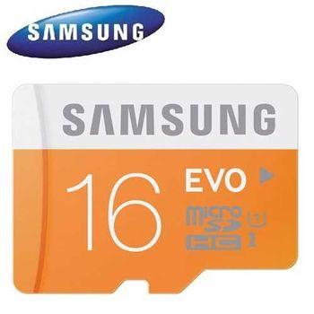 Samsung 三星 16GB 48MB/s EVO microSDHC TF UHS-I U1 C10 記憶卡