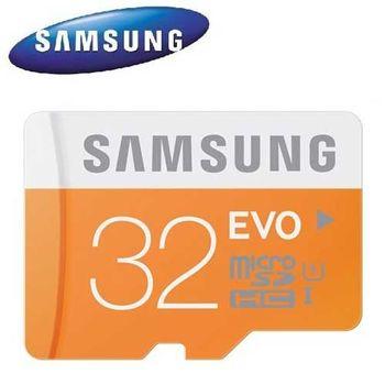 Samsung 三星 32GB 48MB/s EVO microSDHC TF UHS-I U1 C10 記憶卡