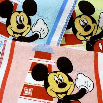 【法式寢飾花季】優雅生活-Disney純棉舒柔海灘巾2件組(燈塔米奇)