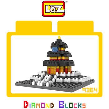 LOZ 鑽石積木 建築系列 益智玩具-9364 天壇