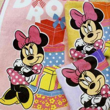 【法式寢飾花季】優雅生活-Disney純棉舒柔海灘巾(禮物米妮)