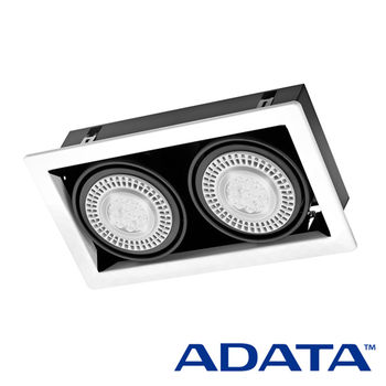 威剛ADATA AR111方型雙燈 送AR111黃光2入
