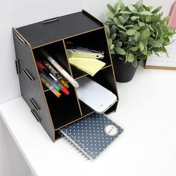 IKLOO宜酷屋_木質簡約桌面收納盒