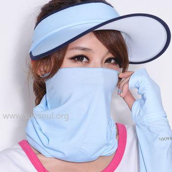 【SUNSOUL】光能頭巾(藍光)