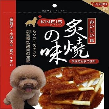 KNEIS凱尼斯炙燒の味 皮骨雞肉串(小)+雞腿潔牙短棒8入裝